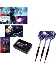 """DARTSLIVE"" Fate Stay Night Darts Set - Tungsten Darts ""Saber / Saber Altar"" [2BA] 【We will start to sell this on May 30th, 21:30(TW time)】"