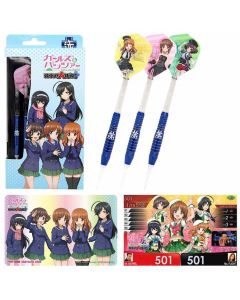 """Dartslive"" Girls Und Panzer(ガールズ&パンツァー) darts set Team あんこう(Ankoh) [2BA]"