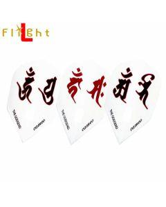 """Flight-L"" ""Cameo"" GODSEND FLIGHT SANSKRIT CHARACTERS(梵字)"