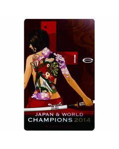 """Limited"" Discontinued DARTSLIVE card L-style (Japan & world champions 2014)"