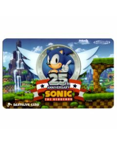 """Limited"" Discontinued DARTSLIVE card Sonic 25th anniversaly"