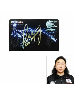 """Limited"" ""Card"" TARGET GHOST Limited DARTSLIVE card 藍園英樹(Hideki Aizono)"