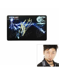 """Limited"" ""Card"" TARGET GHOST Limited DARTSLIVE card 星野光正(Mitsumasa Hoshino)"
