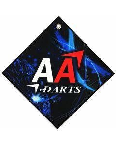 """""""BIKA Design"""" AA darts Original Darts Towel Vol.2 Blue"""