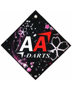 """BIKA Design"" AA darts Original Darts Towel Vol.2 Sakura"