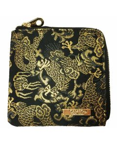 """Limited"" ""Cameo"" Mini Wallet case 金龍(Gold Dragon)"