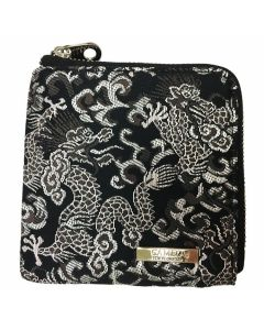 """Limited"" ""Cameo"" Mini Wallet case 銀龍(Silver Dragon)"