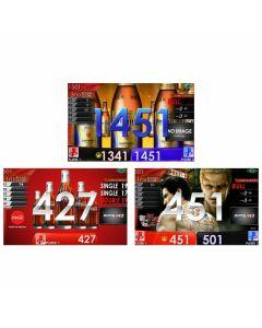 """Limited"" Premium Malts Beer & coca-cola APP & Ryu-ga-gotoku kiwami2 movie Themes DARTSLIVE card"
