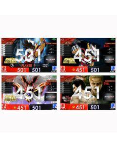 """Limited"" Saint Saiya(聖鬥士星矢) all movies & Ryu-ga-gotoku kiwami2 movie Themes DARTSLIVE card"
