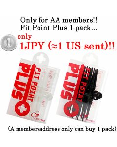 【Limited each 50 set】Fit Point Plus Black / White  【1JPY】  *You can see the Limited Price after logging in your page