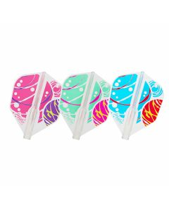 """""""Fit Flight AIR"""" Juggler Queen Colorful Marble [Shape]"""