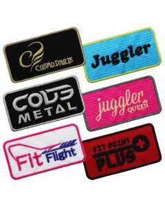"""Cosmo Darts""  Brand logo Badge"