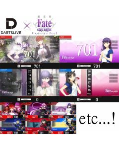 "Right To Get ""DARTSLIVE x Fate"" Campaign DARTSLIVE 2 & DARTSLIVE 3 Themes in your card data (pre-order)"