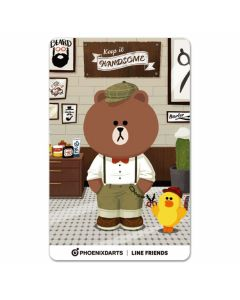 """Card"" PHOENicA LINE Friends3 Phoenix Card Handsome"