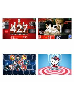 """Limited"" Hello Kitty Taroko Limited themes & coca-cola APP & Ryu-ga-gotoku kiwami2 movie Themes DARTSLIVE card"