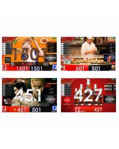 """Limited"" Sushilive & Livequeen Haruka Tsuji &  coca-cola APP & Ryu-ga-gotoku kiwami2 movie Themes DARTSLIVE card"