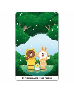 """Card"" PHOENicA LINE Friends3 Phoenix Card Rain"
