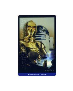 """""""Card""""  STAR WARS EPISODE IV DARTSLIVE card C-01"""