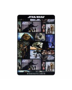 """""""Card""""  STAR WARS EPISODE IV DARTSLIVE card D-01"""
